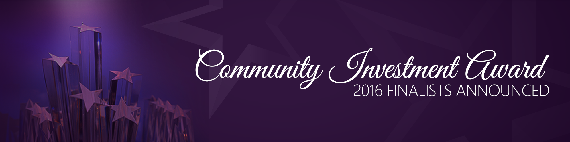 2016 Community Investment Finalists
